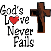 Gods love never fails